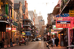 General knowledge about Bourbon Street